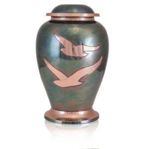 gleaming dove brass urn 300x300