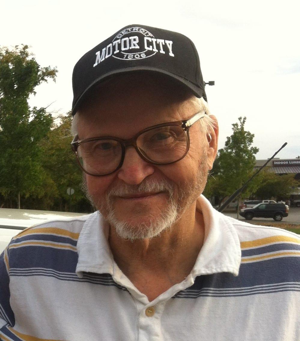 Uncle Paul with cap 2014